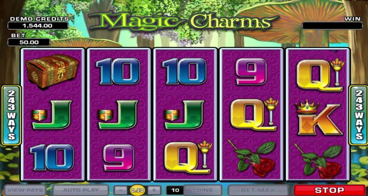 Magic Charms Slot Game Review