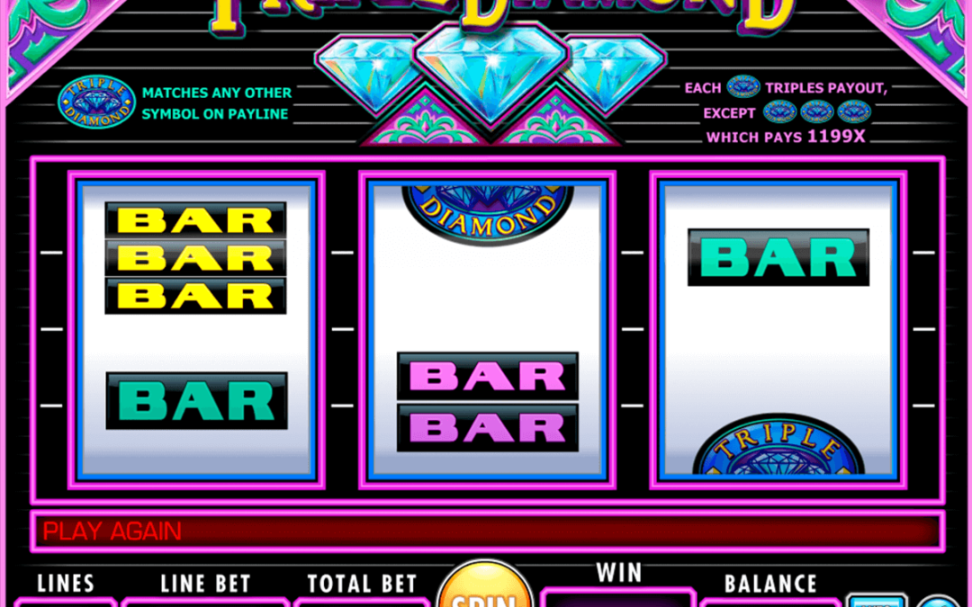 Triple Diamond Slot Review Online Free Welcome Bonus